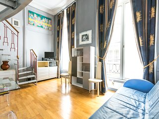 Quiet loft for 3 in the Marais