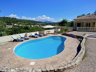 Maison Serviere. Three bedroomed  villa with fabulous views and private pool
