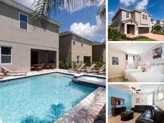 EC060- 8 Bedroom Encore Pool Home