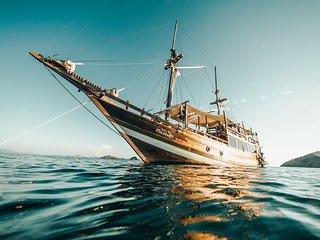 Phinisi Aquamarine | Yacht Charter | Luxury Accomondation | Labuan Bajo, Flores