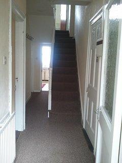 Hall from door