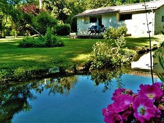 Maison Villa Piscine 20m 30°/Jacuzzi 37°/Riviere amoureux