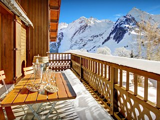 Hop on the bus for great skiing from this traditional chalet - OVO Network