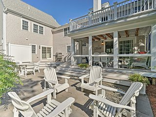 NEW! Nautical Cape Cod Home w/Patios-Walk to Beach