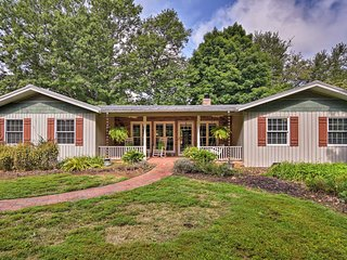 NEW! Riverfront Arden House On 6 Acres w/ Dock!