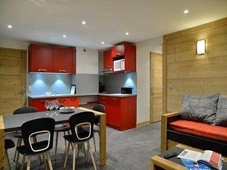 Appartement 3 pieces renoves dans une station familiale au pied des pistes