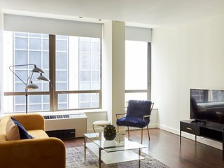Sophisticated 1BR in FiDi by Sonder