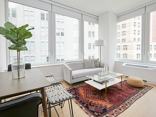 Prestigious 2BR in Financial District by Sonder