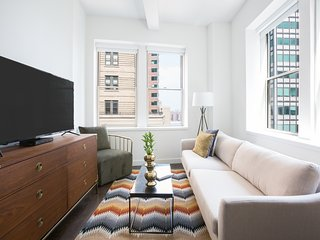 Beautiful 2BR in FiDi by Sonder