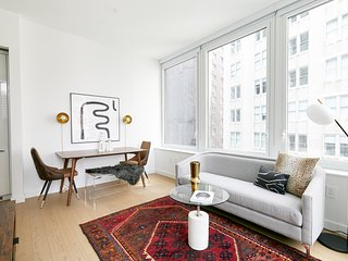 Sophisticated 2BR in FiDi by Sonder