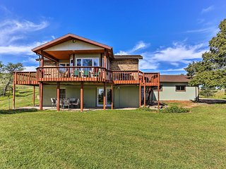 NEW! 3BR Rapid City House w/ Deck On 150 Acres!
