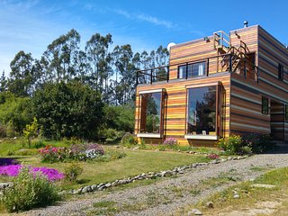 Eco Casa Good Vibrations. Energías de Mar, Bosque y Cielo