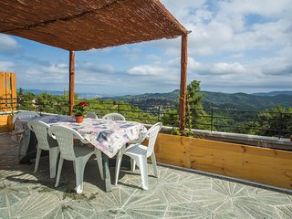 Charming house with fantastic view  of mountain and  barcelona