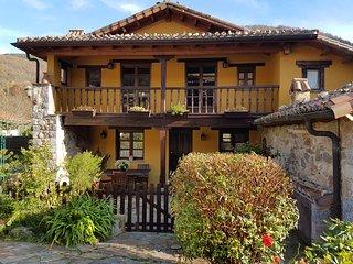 Casa rural con hidromasaje chimenea El Bosque