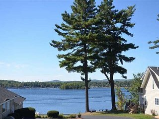 Beautiful View of Lake Winnipesaukee right outside your door!