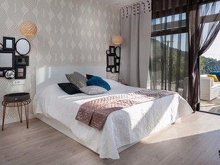 ctma109 - Villa private pool for 8 pers + 2 children. 4 bedrooms, 4 bathrooms, i