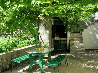 cttu114- holiday house with pool in the upper Tucepi, 2 bedrooms in Tucepi