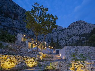 ctma205- Modern Luxoriose Ferinhaus with pool, with a wonderful view in Makarska
