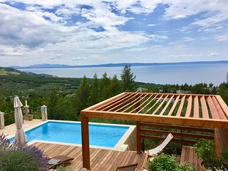 ctto189 - Holiday home with pool, panoramic views of the sea and the islands in