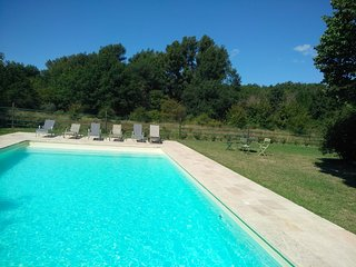Maison 10 pers. Luberon + grande piscine + 7000m2
