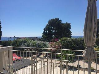Appartamento piano rialzato con piscina, vista mare - Costa Azzurra