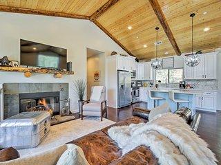 NEW! Custom-Built Big Bear House w/ View & Deck!