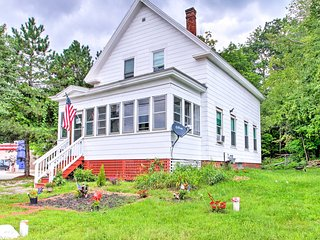 NEW! Serene Laconia Home Across From Opechee Bay!