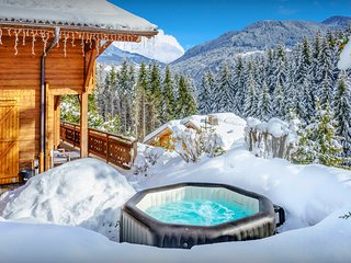 5* Great skiing for all levels at a luxury chalet near pistes - OVO Network