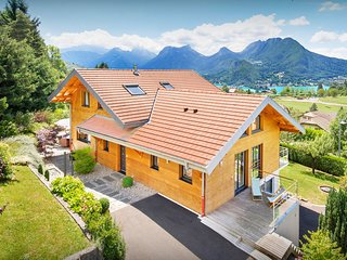 Discover lake and Alpine sports at this stunning modern villa - OVO Network