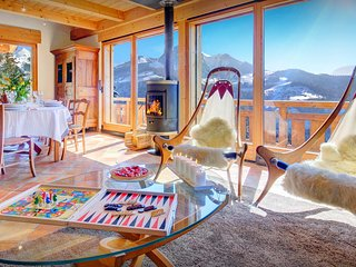 4* Great views from the sauna at this cosy French Alps chalet - OVO Network