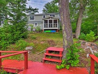 Waterfront Grafton Home on Kilton Pond w/ Deck!