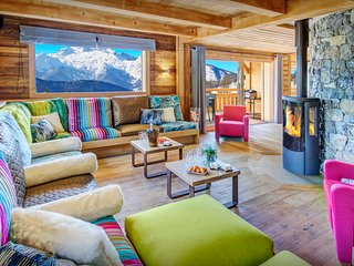 5* Relax in the sauna or pool at this luxury Alpine chalet - OVO Network