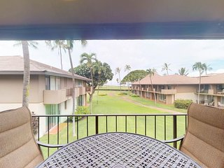 NEW LISTING! Oceanview condo w/ A/C, 3 shared pools & hot tub, near the beach