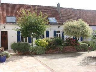 Traditional French farmhouse with pool in rural North France 45 minutes Calais
