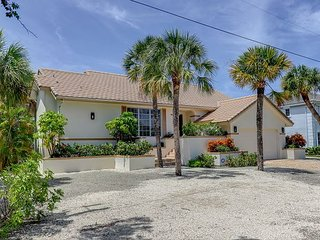 Sunset Hideaway: Charming Pool Home in Beachview Estates Close to Beach Path!