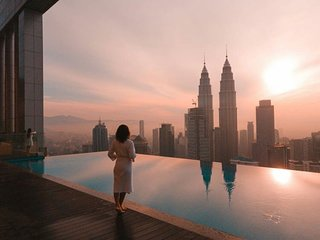 Platinum Suite | KLCC | KL Tower | Infinity Pool
