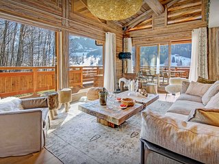 Indoor pool & sauna at this exclusive 5 star Alpine lodge - SnowLodge