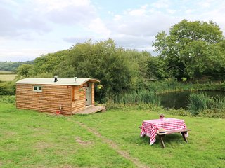 SHEPHERDS HUT, studio set-up, farmland, in Moretonhampstead