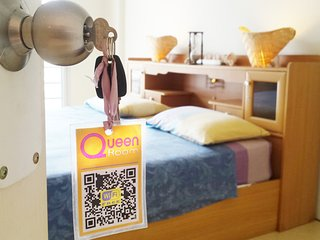 Queen Room 16 sqm. k.size bed, 1Km to Chalong - Phuket