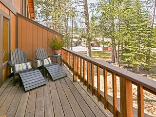 Comfortable Tahoe Donner Gem w/ Deck - Access to 5-Star Amenities