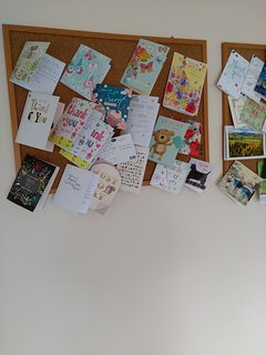 Solo alcune delle carte di ringraziamento