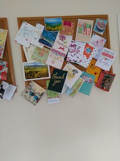 Just a few of thank you cards