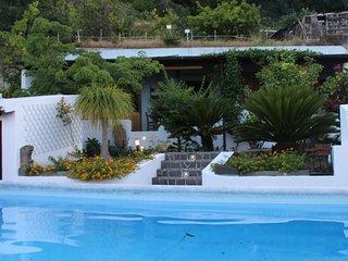 vista piccola piscina