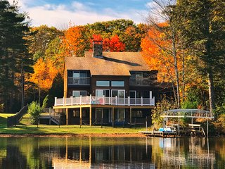 Newly listed!  Breathtaking Lake House with Spectacular Views from Every Room