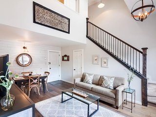 NEW LISTING! Historic downtown luxury loft, close to hiking & everything in town