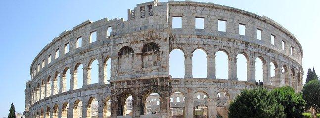 Roman Amphitheatre in Pula