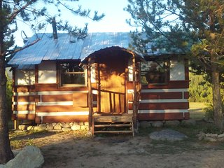 Cabin at Lost Prairie Guest Ranch