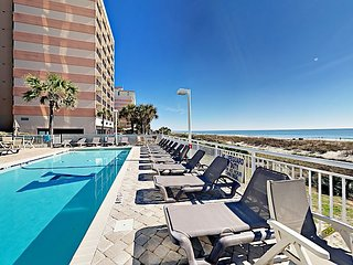 Walk to Myrtle Beach! 2BR Atlantica Condo w/ 3 Pools, Lazy River & Balcony