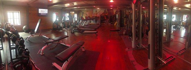 Site Gym gratuito para uso dos hóspedes
