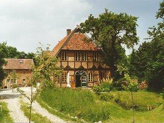 Fachwerkhof Gödringen Neubau Stand 1993